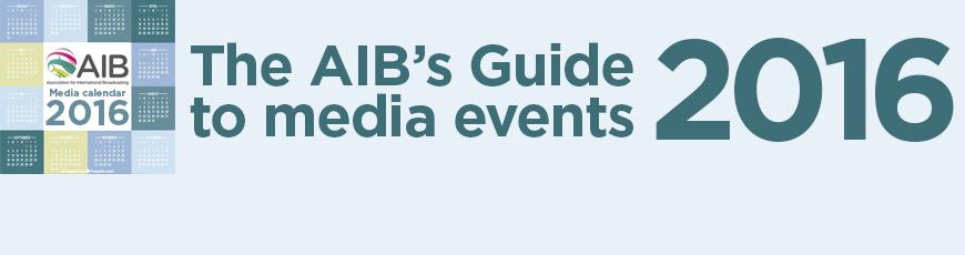 AIB Calendar of Media Events