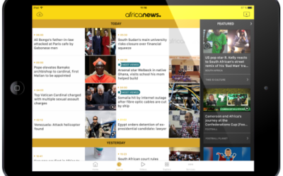 Africanews launches its App available for free on the App Store