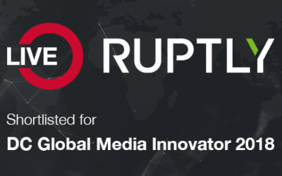 Ruptly Live nominated for DC Global Media Innovator award