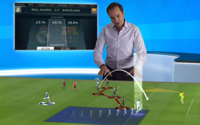 Vizrt brings immersive football analysis to the studio with the new Viz Libero AR