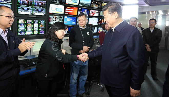 Beijing consolidates national broadcasters