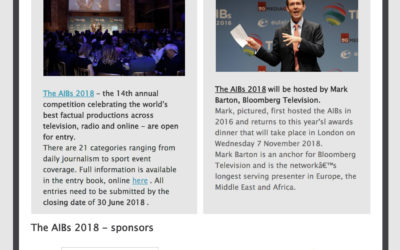AIB industry briefing | May 2018