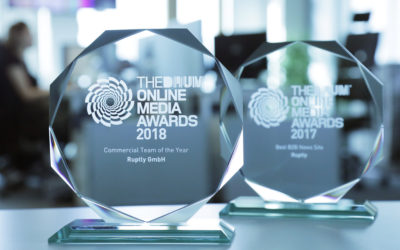 Ruptly named Commercial Team of the Year at The Drum Online Media Awards