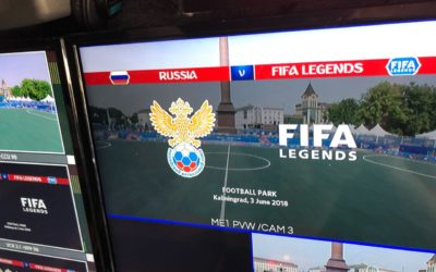 Ruptly deploys a 5-camera UHD OB van in World Cup Coverage