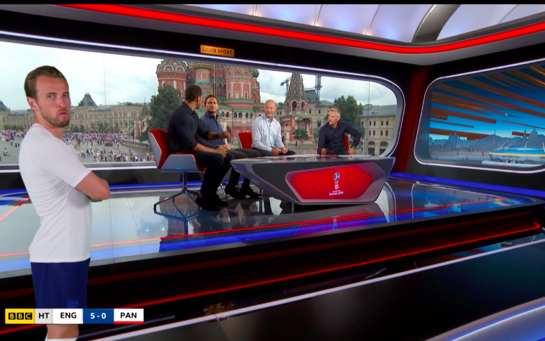 Match of the Day World Cup coverage goes live with Vizrt's Augmented Reality Graphics
