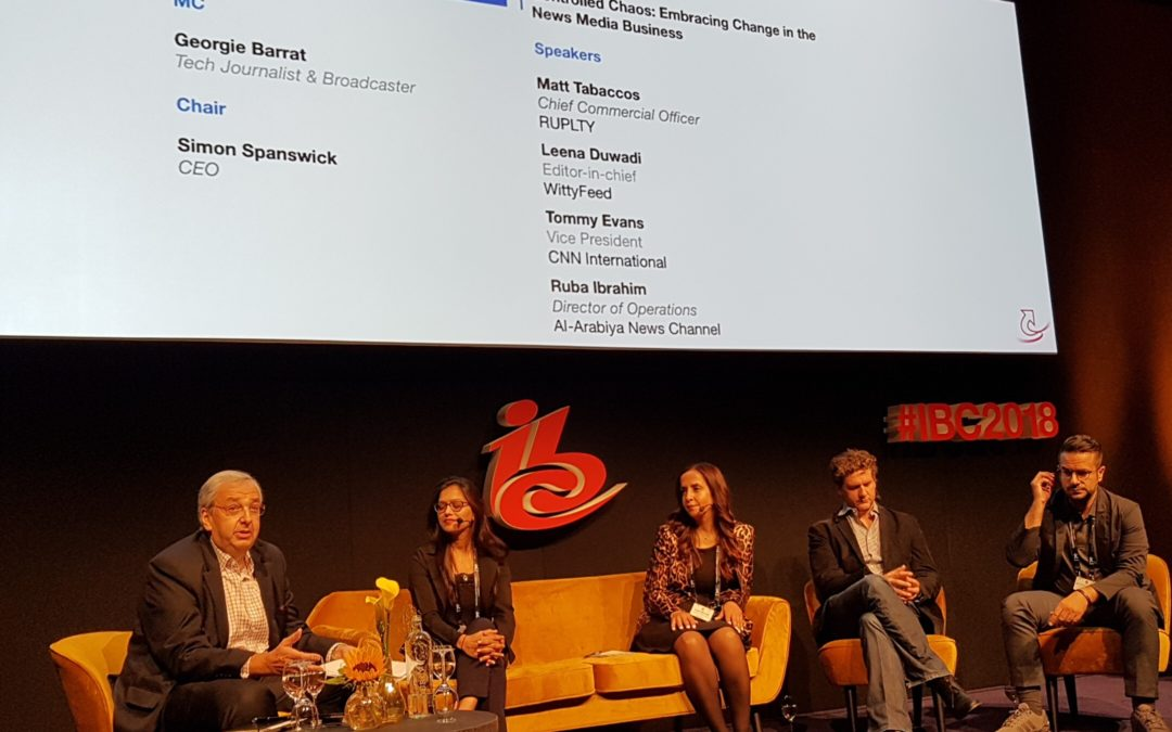IBC: News organisations look at emerging challenges