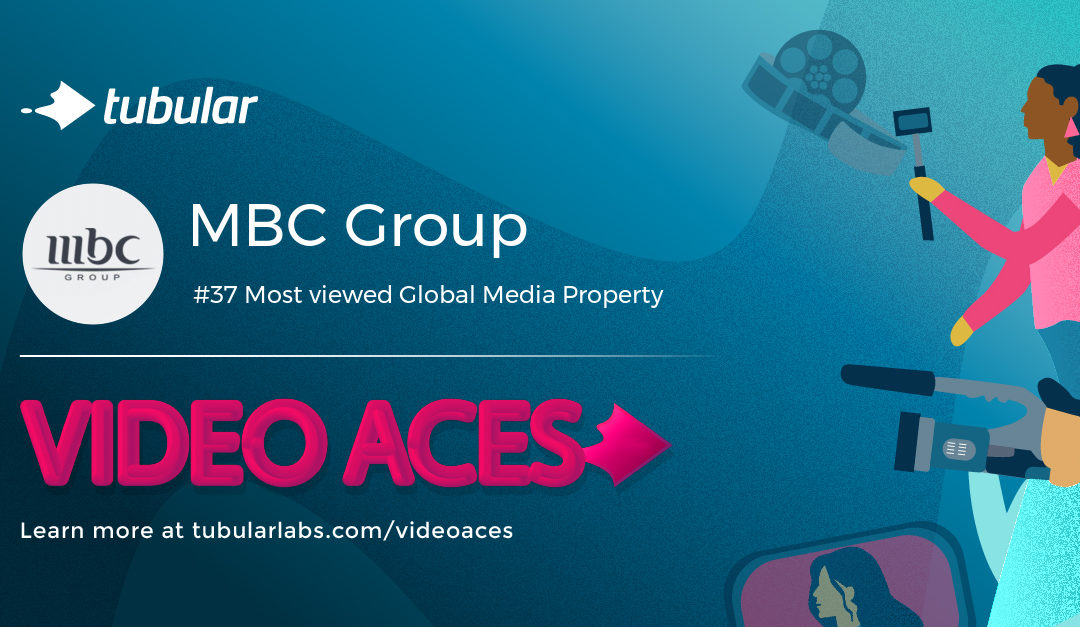 VideoAces Awards rank MBC Group 37th Most Viewed Global Media Property in the world