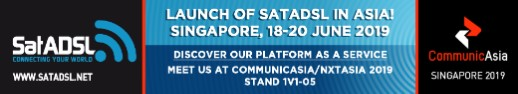 CommunicAsia 2019 – SatADSL to Extend its cloud-based service delivery platform to Asia-Pacific Market for first time
