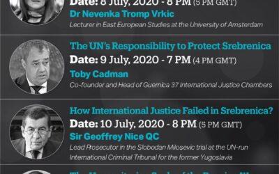 TRT World Forum Digital Debates discuss Srebrenica Genocide on 25th anniversary