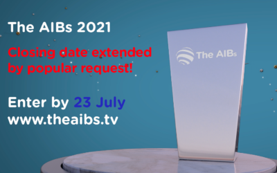 AIBs 2021 – closing date extended