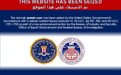 US seizes Iranian, Middle Eastern broadcaster websites